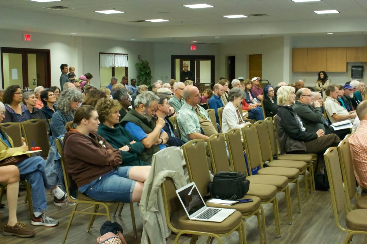 Residents protest water permit for Dominion compressor