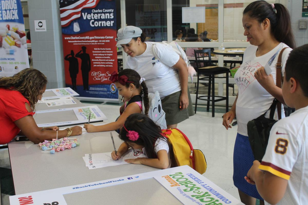 Local families participate in back-to-school fiesta