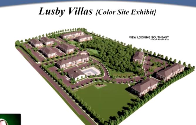 Lusby Villas drawing