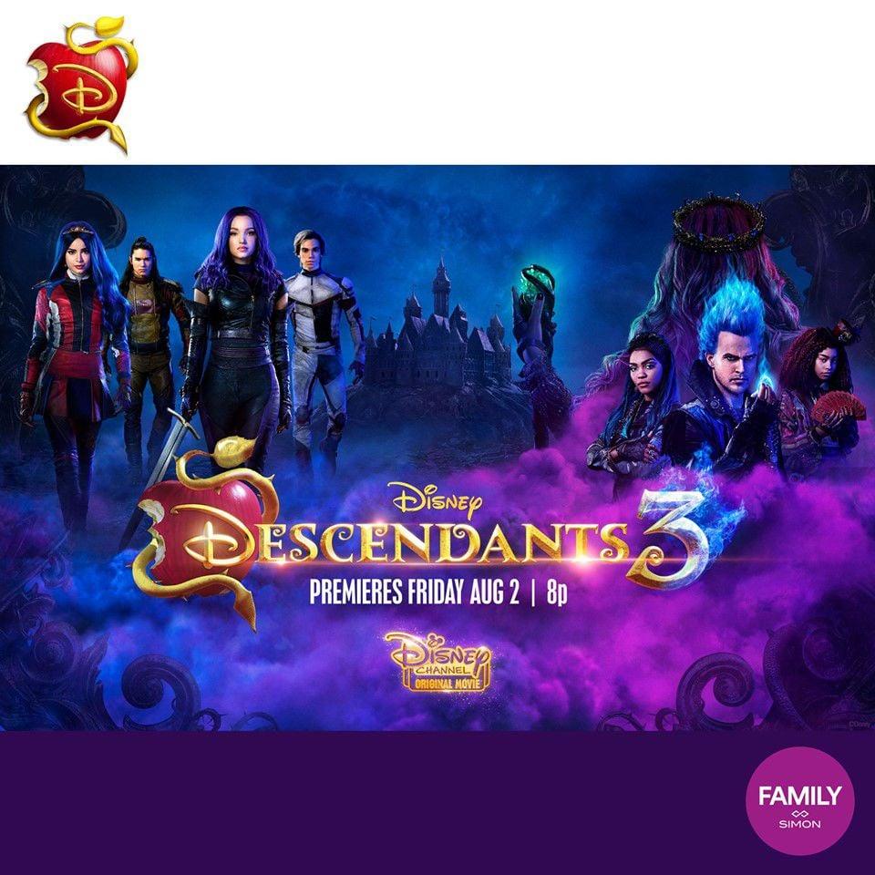 Disney: Descendants 3 Event