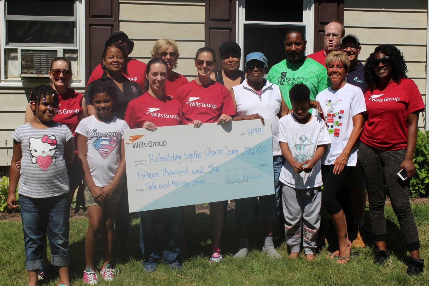 Wills Group partners with Rebuilding Together for home improvement