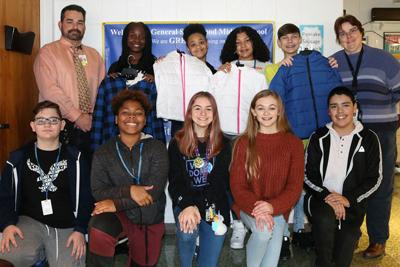 Smallwood SGA collects coats for those in need