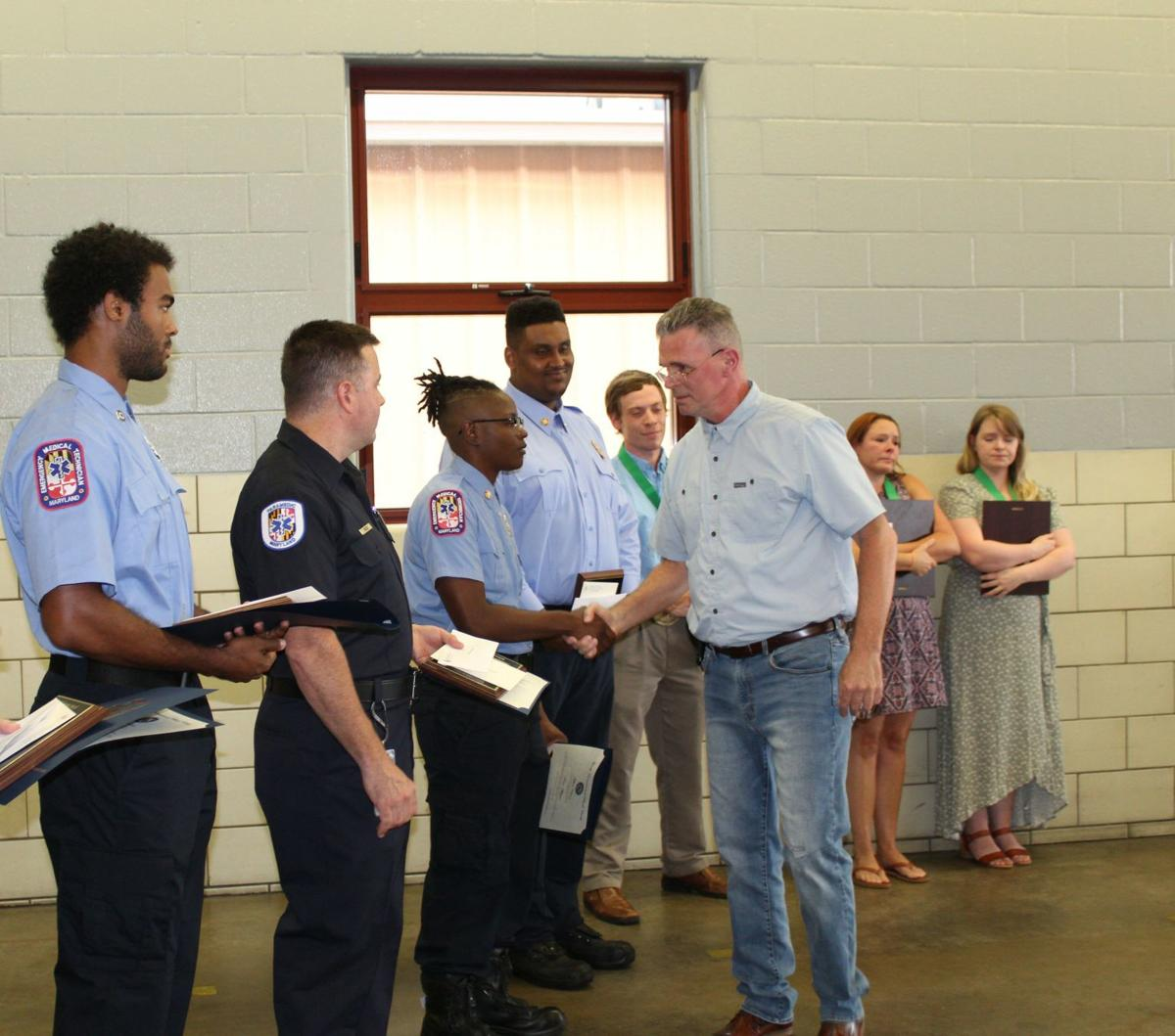 Citizens honored for response to near-tragedy at a funeral