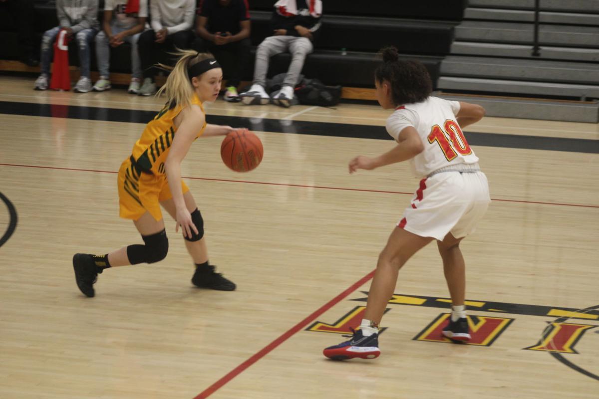 Taylor Dean (Great Mills girls basketball), Analecia Hawkins (North Point)