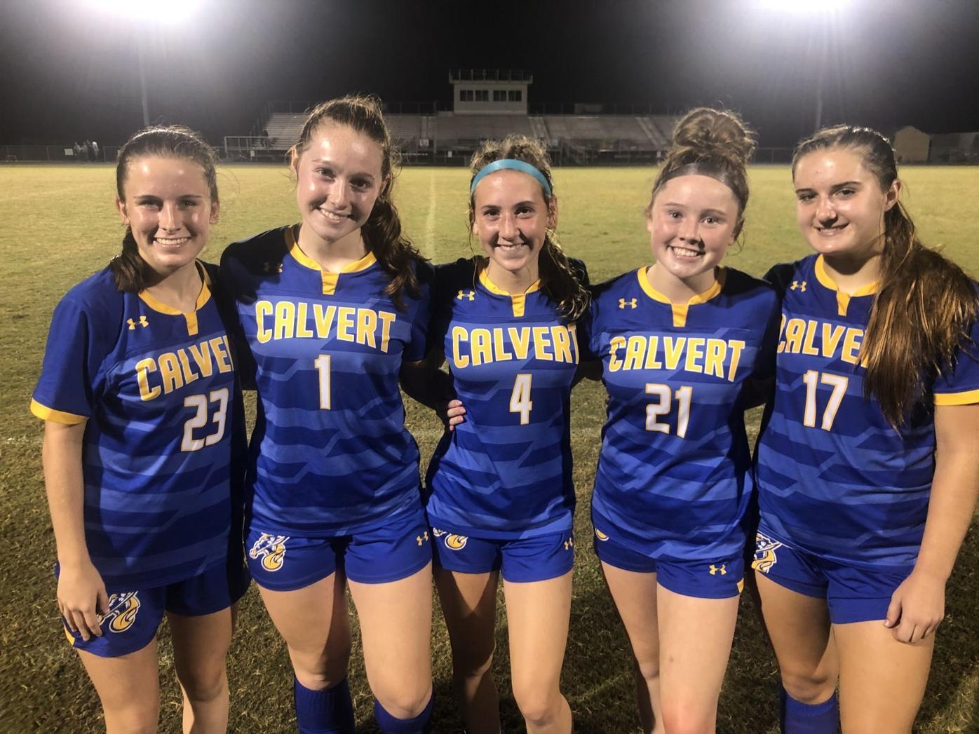 Calvert girls soccer riding youth movement