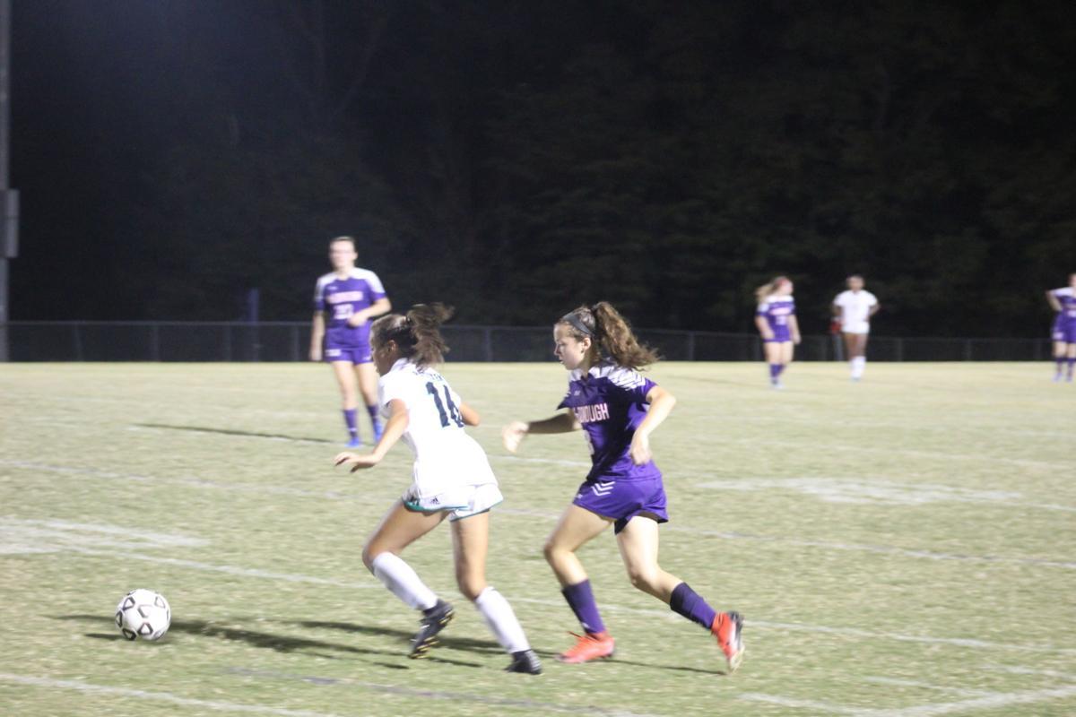 Sophia Estrada (Patuxent girls soccer), Emily Farren (McDonough)