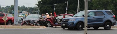 Crash in Prince Frederick
