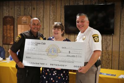 La Plata Lions donate to Project Lifesaver