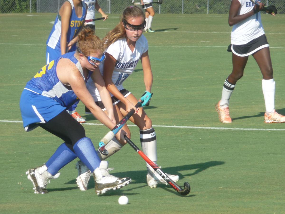 Mary Cartwright (Thomas Stone field hockey), Alexis Zeruto (Huntingtown)