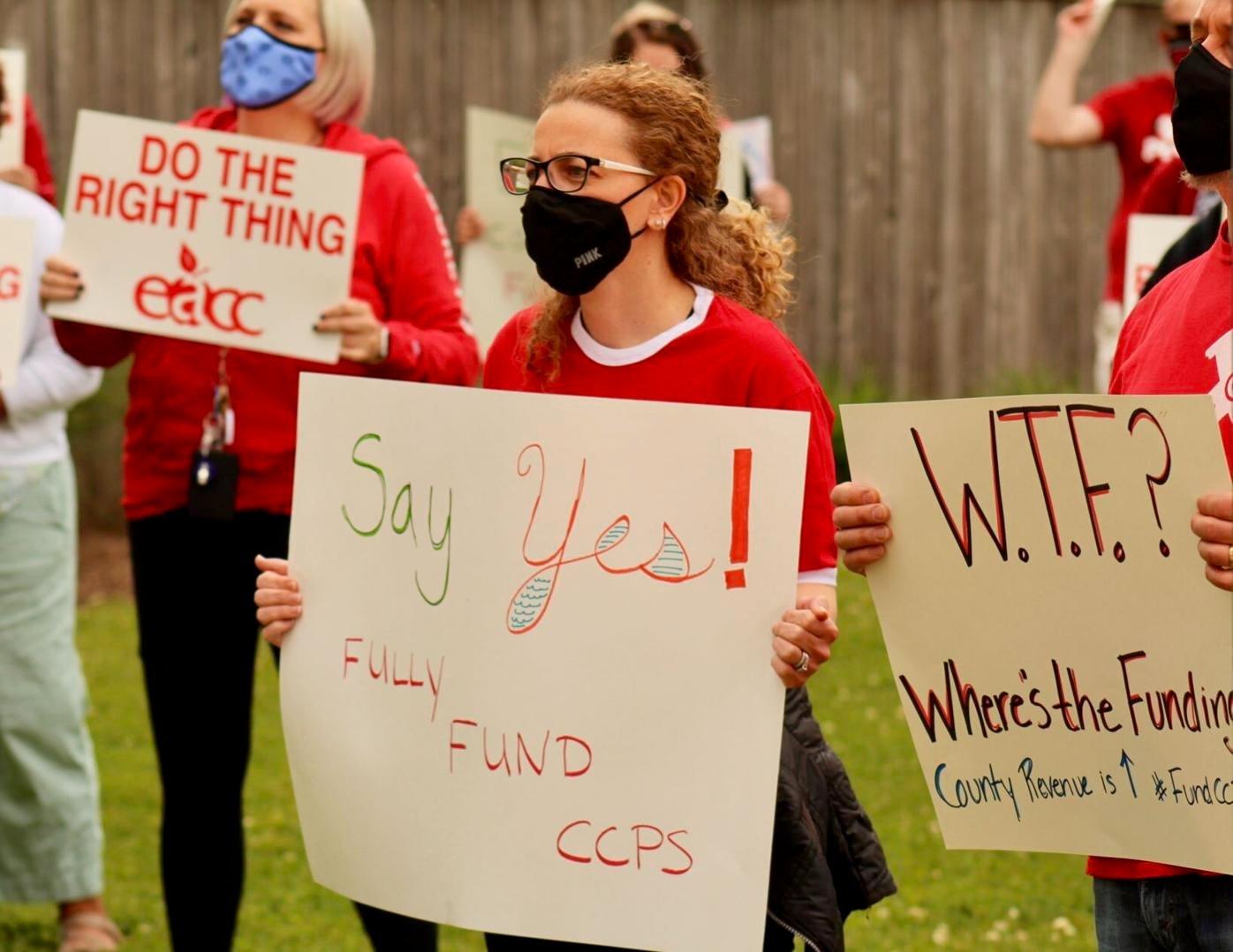 Teachers call for full funding of budget