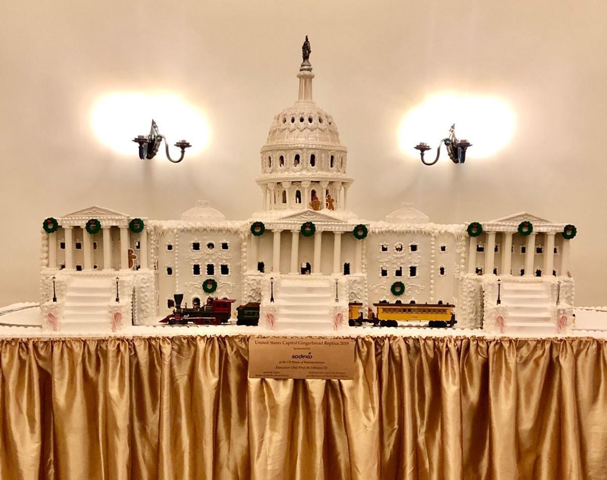 La Plata bakery helps make gingerbread replica of U.S. Capitol building