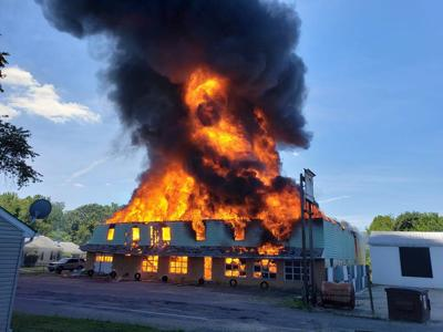 Furniture flames
