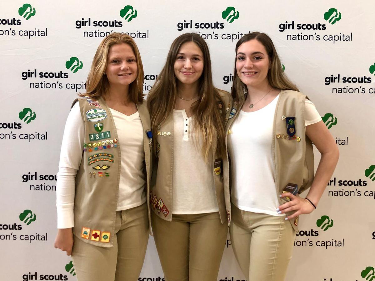 St. Mary's Girl Scouts earn group's highest awards