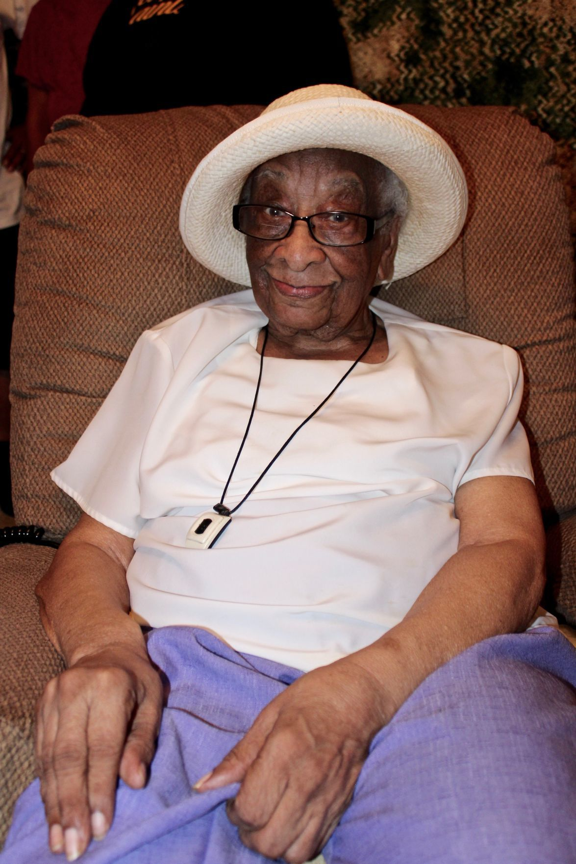 Geraldine Woodland Celebrated Her 100th Birthday June 2