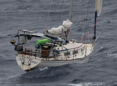 Solomons sailboat reported adrift in Gulf of Mexico found to