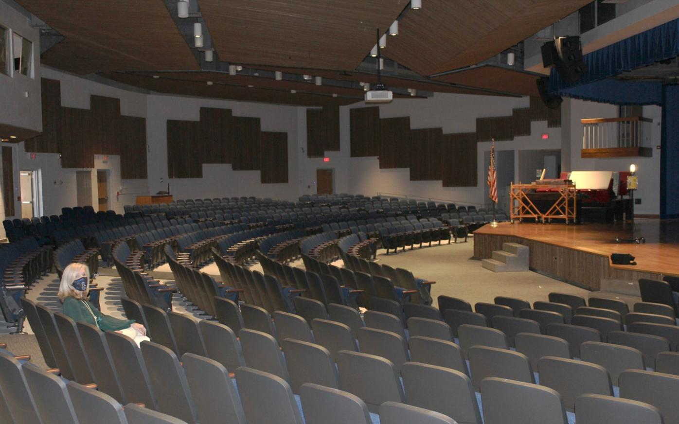 LHS auditorium gets new seating