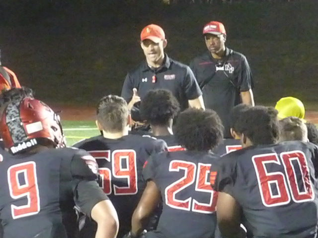 North Point football pushes past Westlake