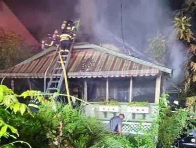 Huntingtown fire