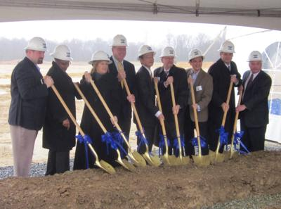CPV breaks ground on gas plant