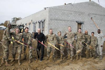 New ground transport facility brings squadron back together