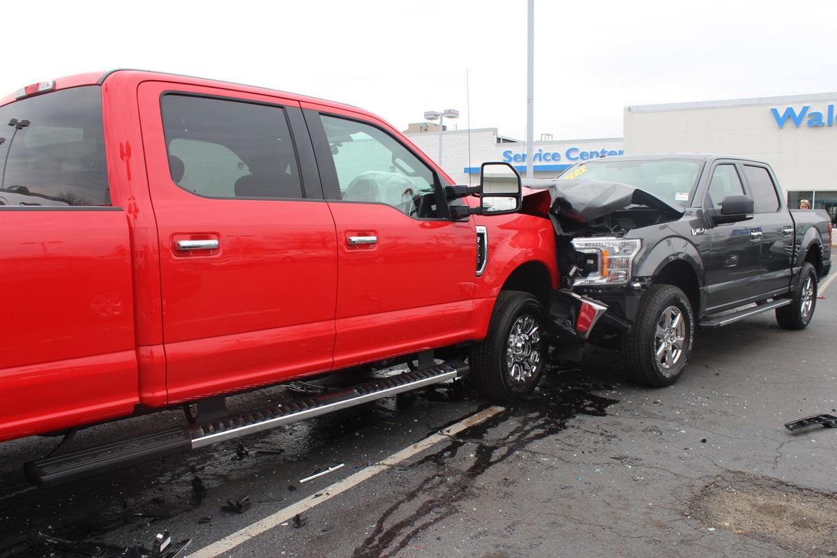 Waldorf Ford employee rams truck into showroom, additional vehicle