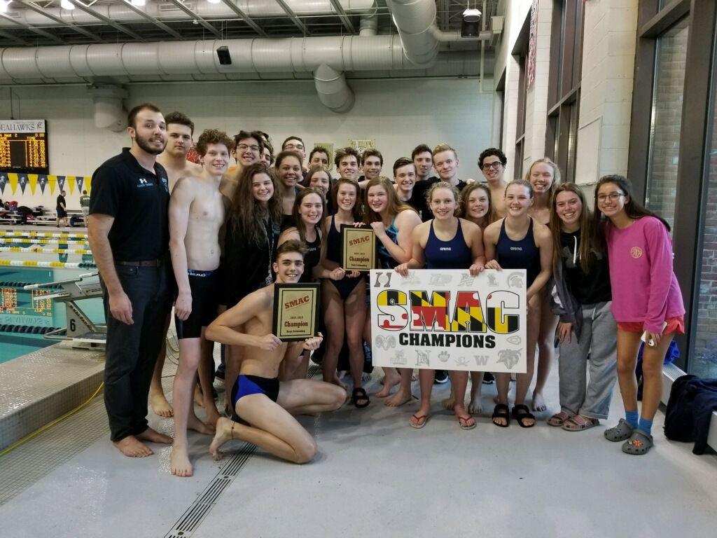 Huntingtown swim teams