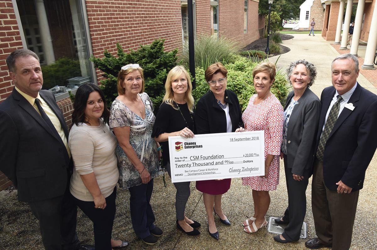 Chaney Enterprises Foundation gives $20K to CSM | Spotlight