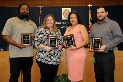 Board of Ed honors support staff