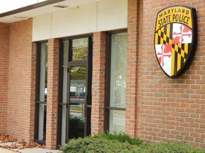 Maryland State Police barrack in Leonardtown