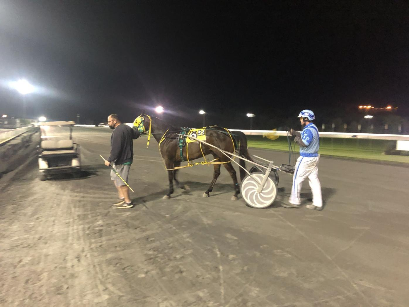 Walters winning races at Rosecroft