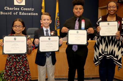 School board honors students for accomplishments