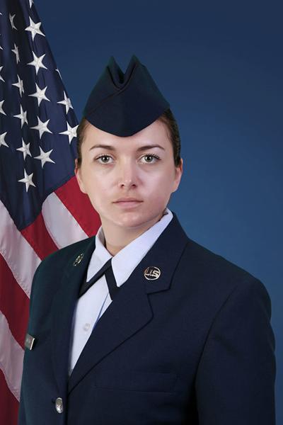 Airman 1st Class Mozingo completes basic training