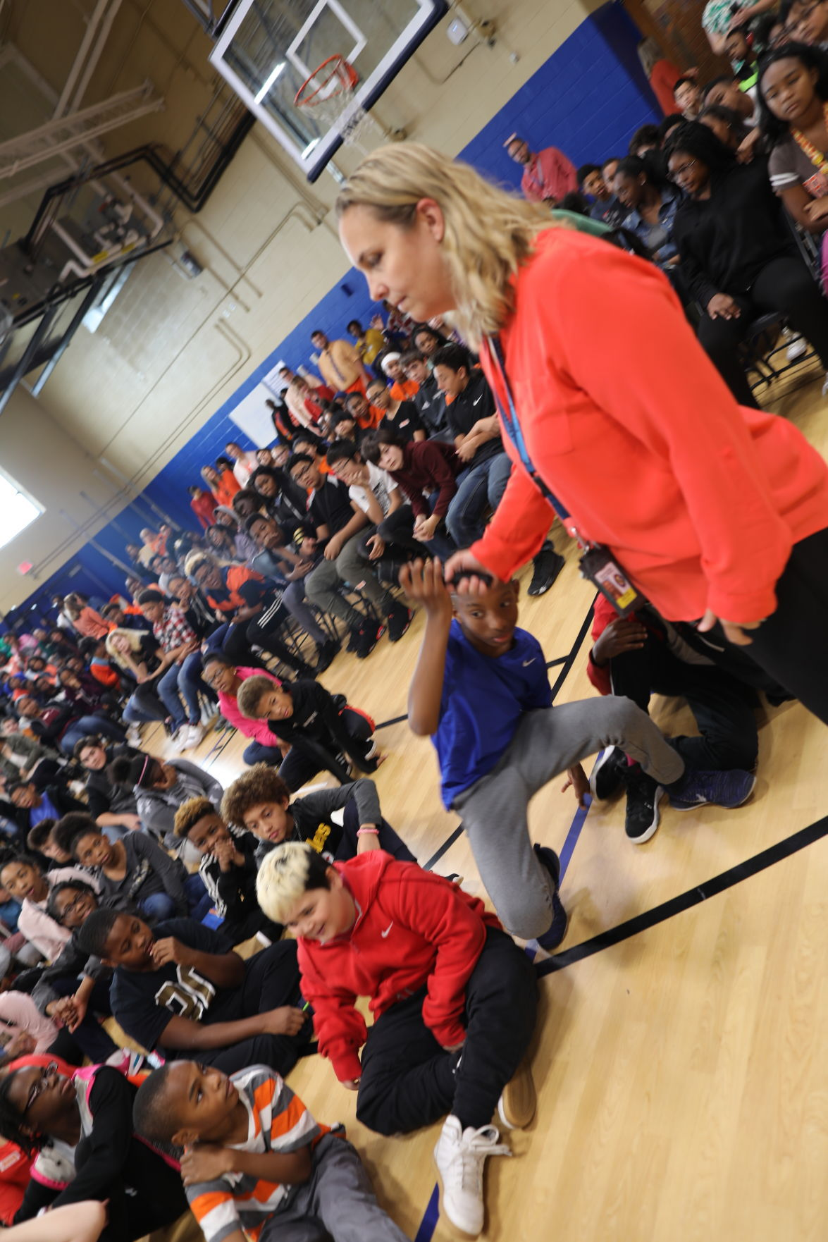 middle school celebrates unity week with speakers