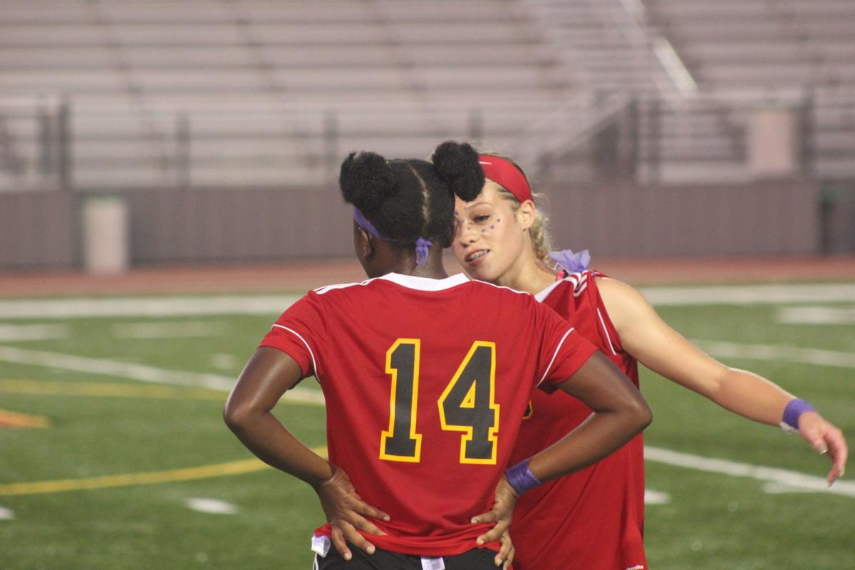 Jordan Felton, Kemi Harris (North Point girls soccer)