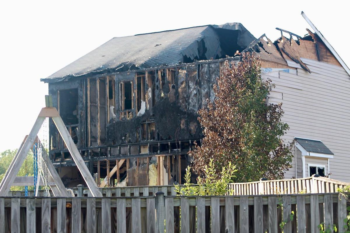 Finnea Way home destroyed by fire