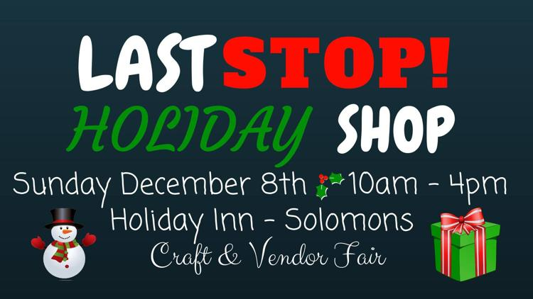 Last Stop Holiday Shop Advertisement