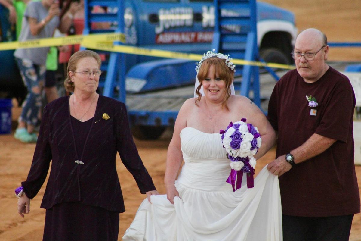 A dusty wedding