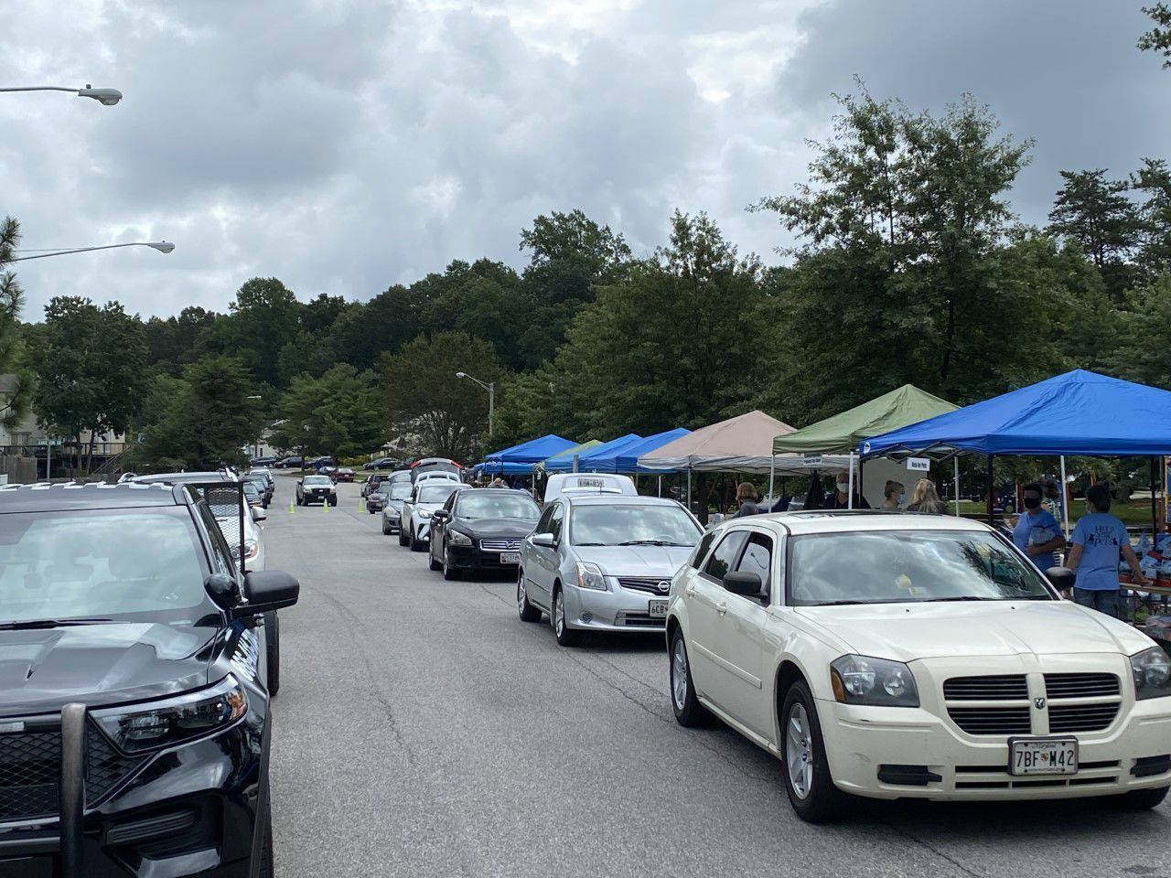La Plata Police holds seventh annual block party
