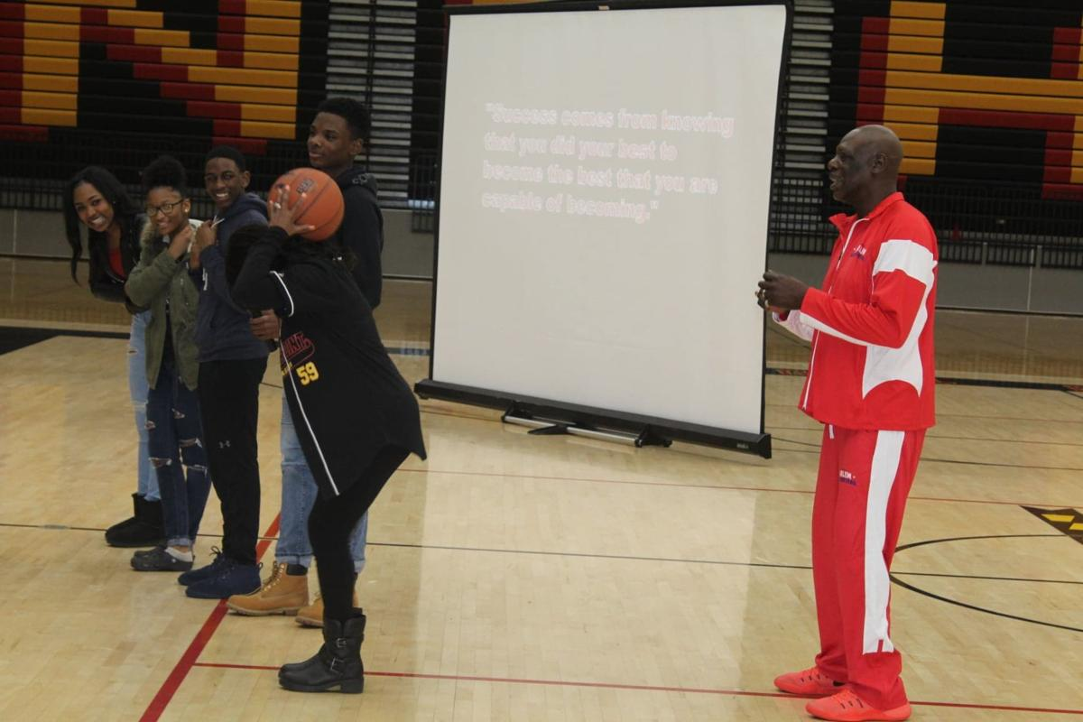 'Slam Dunk' event shows North Point students what success looks like on, off court