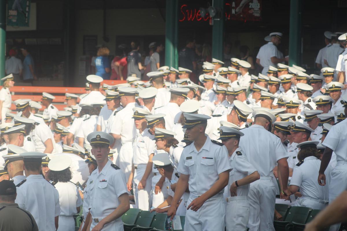 Baysox host annual Navy Night