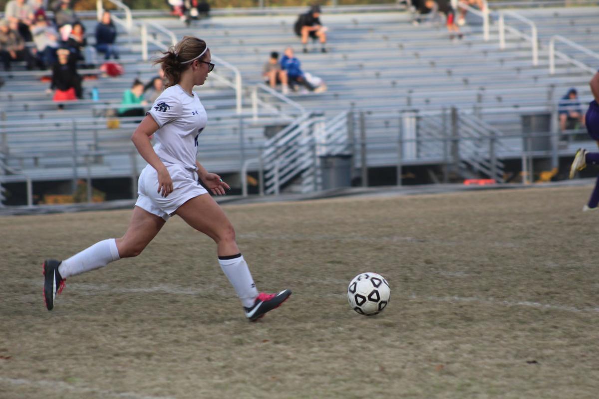 Savannah McBain (Lackey girls soccer)