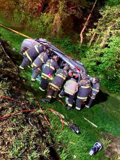One injured in Friday night crash