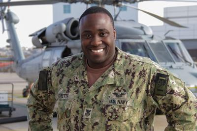 Charles County native serves with helicopter squadron