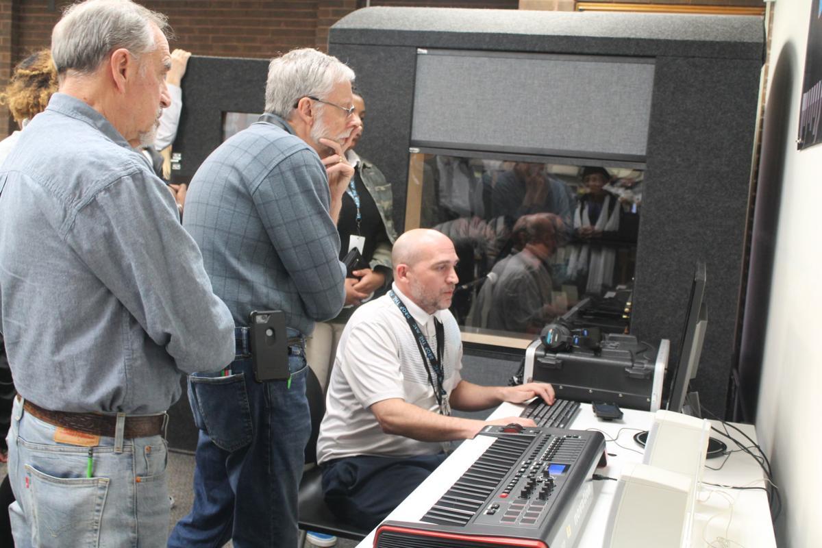 Library unveils new recording studio
