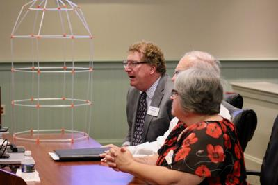 St. Mary's Library officials address county commissioners