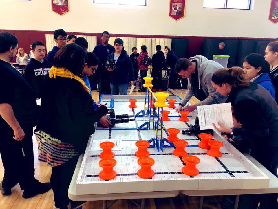 St. Peter's School wins Catholic schools' robotics championship