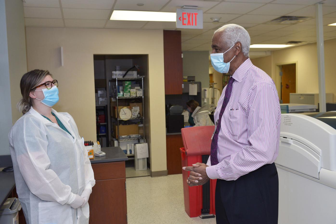Hospital lab manager to retire after four decades