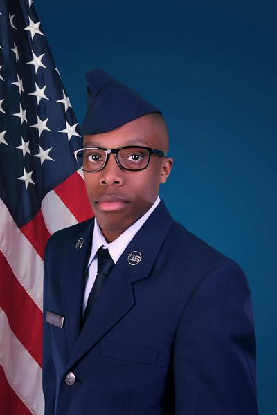 Airman Mitchell completes basic training