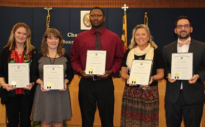 School board honors exemplary staff