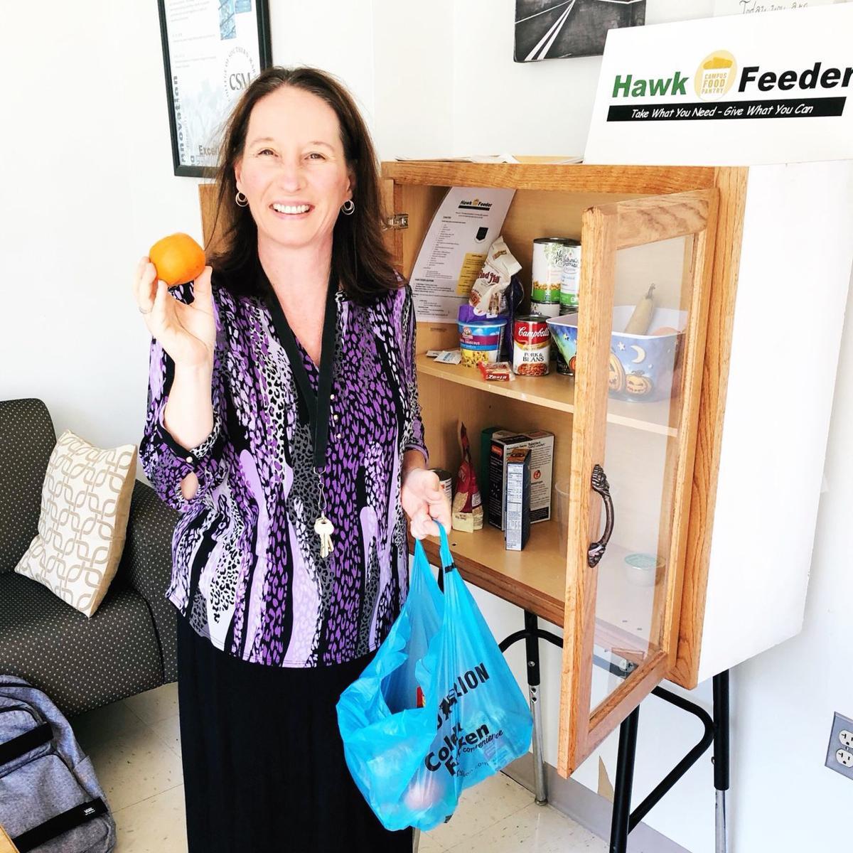 CSM hosts food drive for its 'Hawk Feeders'